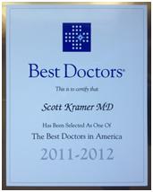 Scott Kramer MD Best Doctors in America Award